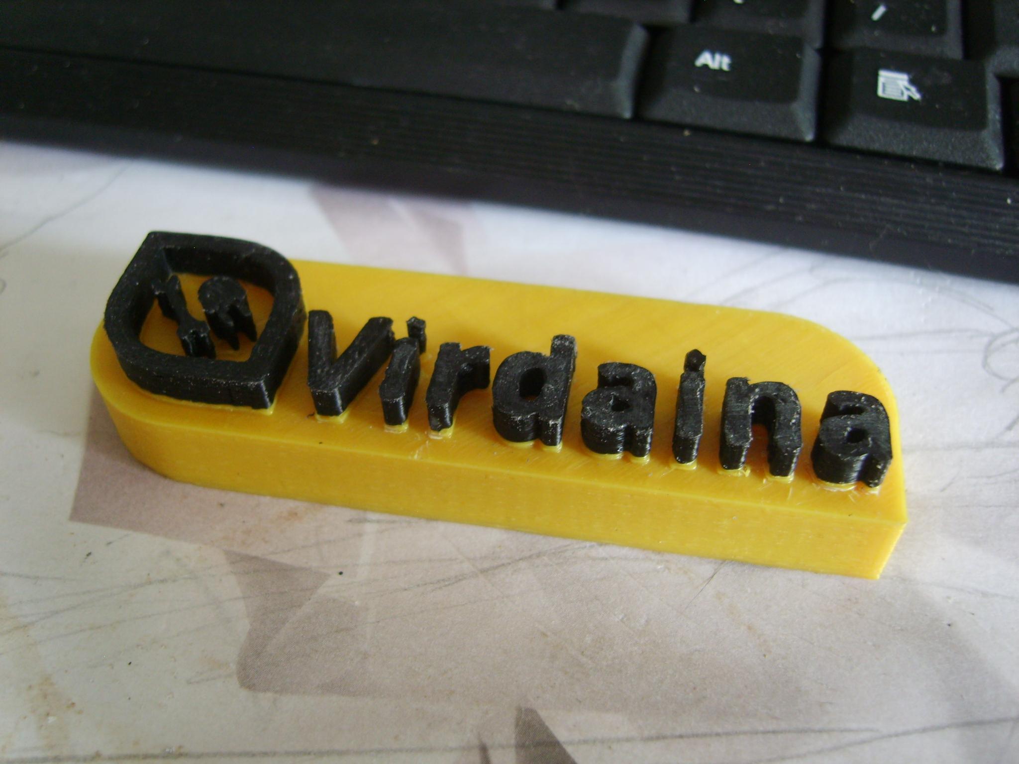Virdaina logotipas